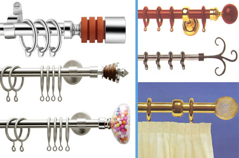9 fresh curtains rods and accessories